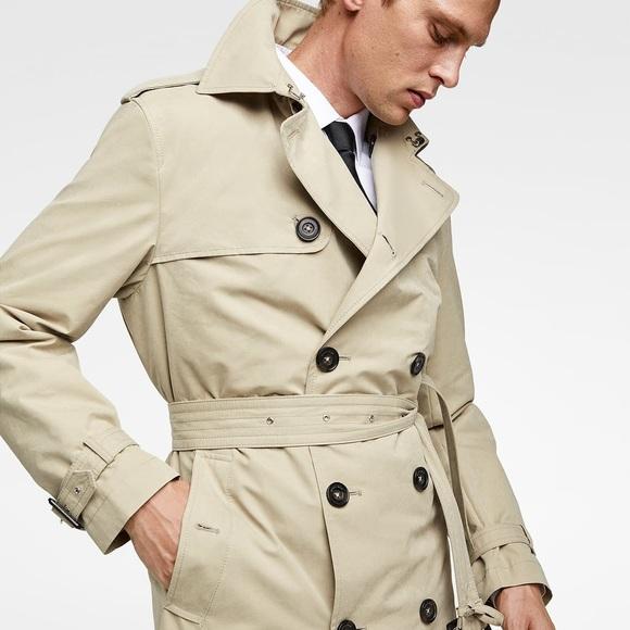 a059b2a7 Zara Jackets & Coats | Man Trench Coat Nwot | Poshmark